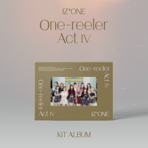 IZ*ONE (아이즈원) _ 미니4집 [One-reeler / Act IV] KiT Album